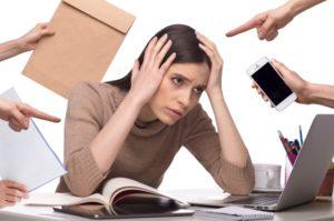 ストレスにより、自律神経が乱れる。